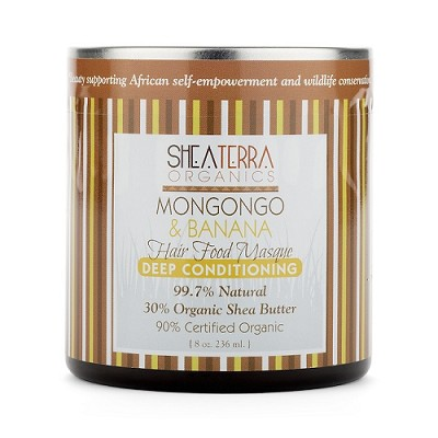 Mongongo & Banana Deep Conditioning + Pre-shampoo Hair Food Masque