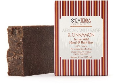 African Wild Sage & Cinnamon In the Wild Hand & Bath Bar
