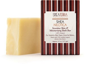 Shea Nilotica Sensitive Skin & Moisturizing Bath Bar