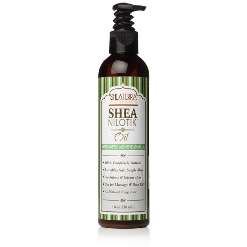 Shea Nilotik' Butter Body Oil MARRAKESH MENTHE VANILLA