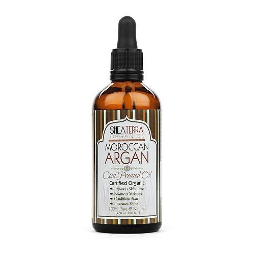 100% Pure Moroccan Argan Extra Virgin Oil (Certified Organic) 3.38 oz.