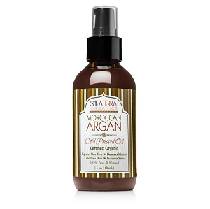 100% Pure Moroccan Argan Extra Virgin Oil (Certified Organic) 4 oz. size