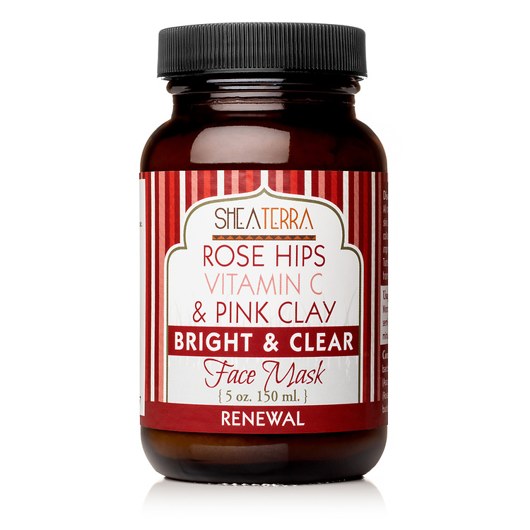 Rose Hips Vitamin C Pink Clay Bright & Clear Face Mask RENEWAL