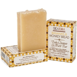 Bananas & Monkey Bread Baby Shampoo & Bath Bar