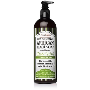 The Original African Black Soap Body Wash LEMONGRASS