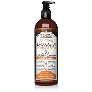 Egyptian Black Castor & Carrot Seed Co-Wash & Conditioner (BOOST & GROW)