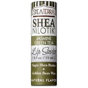 Shea Nilotik' Lip Savior JASMINE GREEN TEA