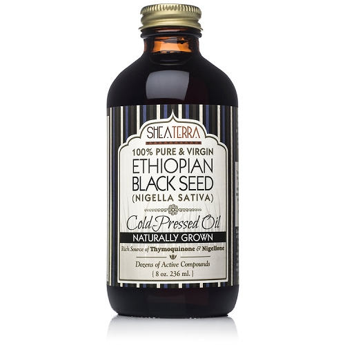 100% Pure Ethiopian Black Seed Oil 8 oz. (Very Strong, Naturally Grown in Bale Valley, Cold Pressed)