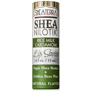 Shea Nilotik' Lip Savior RICE MILK CARDAMOM