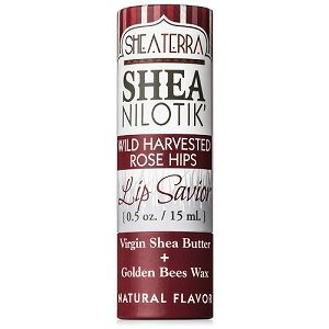 Shea Nilotik' Lip Savior WILD HARVESTED ROSE HIPS