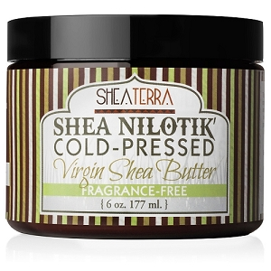 Shea Nilotik' Cold Pressed Virgin Shea Butter FRAGRANCE FREE