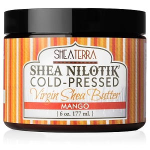 Shea Nilotik' Cold Pressed Virgin Shea Butter MANGO