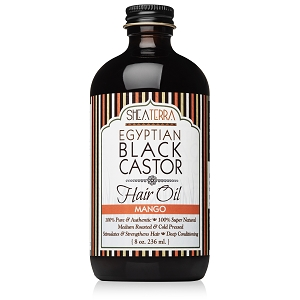 100% Pure Egyptian Black Castor Extra Virgin Oil MANGO