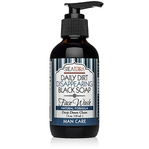 Daily Dirt Disappearing Black Soap Face Wash MAN CARE