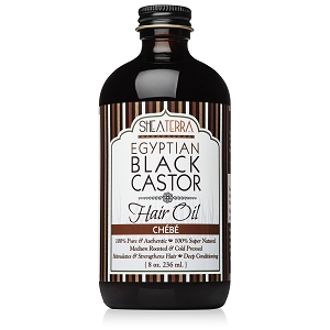 100% Pure Egyptian Black Castor Extra Virgin Oil CHE'BE'