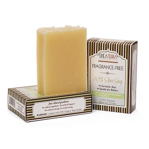 33% Shea Butter Soap (FRAGRANCE FREE)