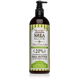 Shea Nilotik' 20% Shea Butter Ultra-Lotion COCONUT LEMONGRASS