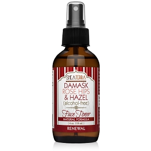 Rose Hips Damask Rose & Hazel Face Toner (alcohol-free) RENEWAL