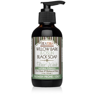 Willow Bark & Osun Black Soap Face Wash BLEMISH PRONE/ OILY