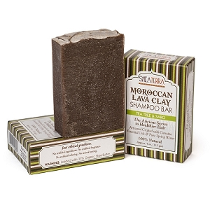 Moroccan Lava Clay Shampoo Bar TEA TREE & SARO