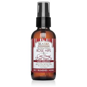 100% Pure Rubiginosa Rose Hips Extra Virgin Oil (Cold Pressed, Wild Harvested, 100% Organic)