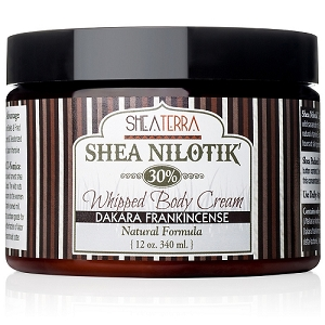 Shea Nilotik' 30% Shea Butter Whipped Body Cream DAKARA FRANKINCENSE