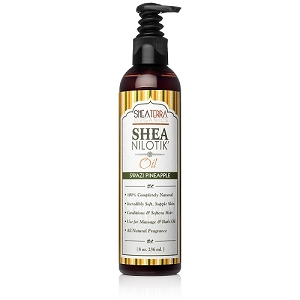 Shea Nilotik' Shea Butter Body Oil SWAZI PINEAPPLE