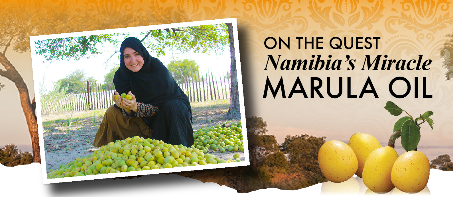 On The Quest - Namibia's Miracle Marula Oil