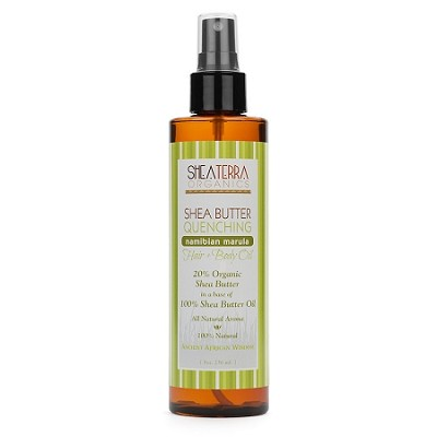 Shea Butter Quenching Hair + Body Oil (NAMIBIAN MARULA)