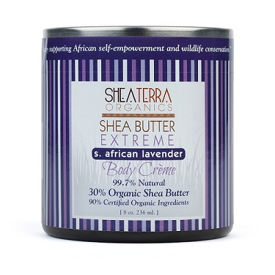 CAPE LAVENDER Whipped Shea Butter Body Creme