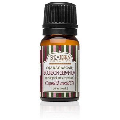 Madagascar Bourbon Geranium Essential Oil (Certified Organic)