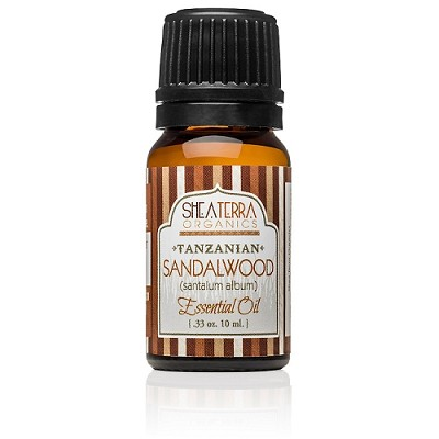 Tanzanian Sandalwood Essential Oil (Certified Organic)