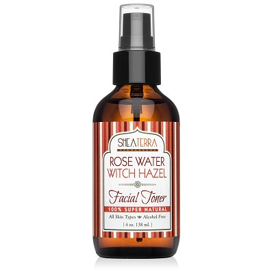 Rose Water Witch Hazel Facial Toner (alcohol-free)