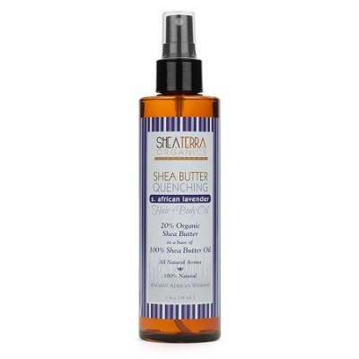 Shea Butter Quenching Hair + Body Oil (S. AFRICAN LAVENDER)