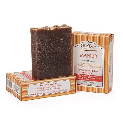 33% Shea Butter Soap (MANGO)