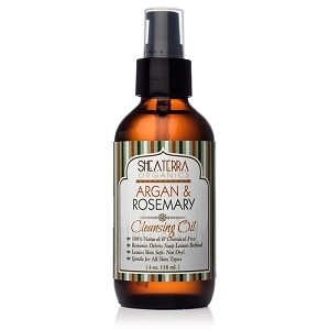 Argan & Rosemary Facial Cleansing Oil (4 oz.)